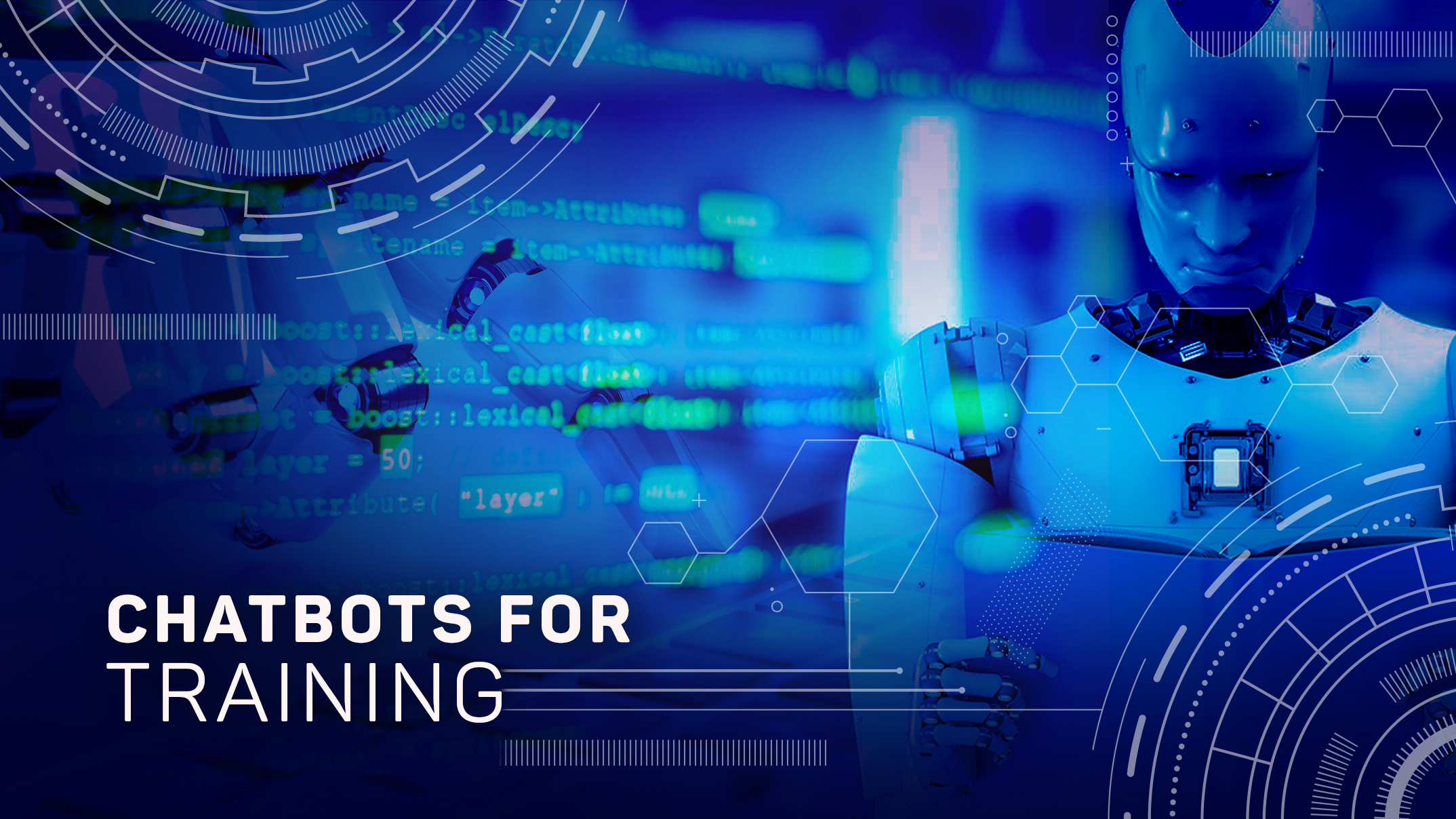 The Bots that train: An AI Use case for Training Heavy Firms